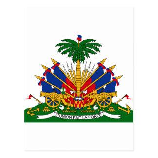 HTハイチの紋章付き外衣 はがき