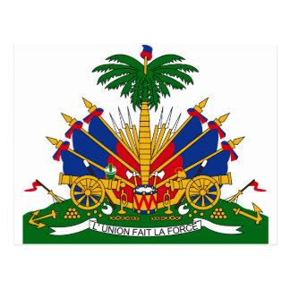 HTハイチの紋章付き外衣 ポストカード