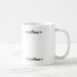htmlのコーヒー コーヒーマグカップ