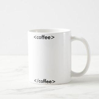 HTMLのコーヒー・マグ コーヒーマグカップ