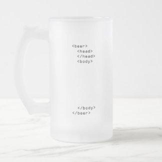 HTMLのビールのジョッキ フロストグラスビールジョッキ