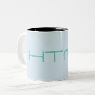 HTMLのマグ ツートーンマグカップ