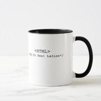 HTMLのマグ マグカップ
