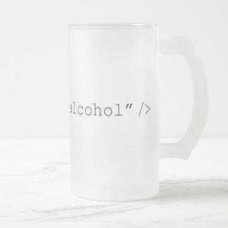 HTMLの入力アルコール フロストグラスビールジョッキ