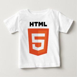 HTML5ロゴ ベビーTシャツ