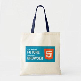 HTML5買い物袋 トートバッグ