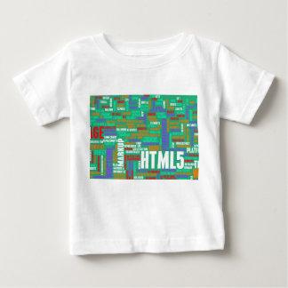 HTML 5かHTML5 ベビーTシャツ