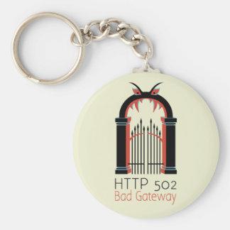 HTTP 502の悪い状態の出入口 キーホルダー