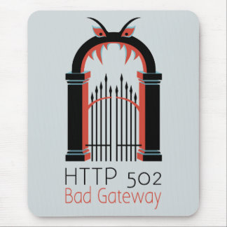 HTTP 502の悪い状態の出入口 マウスパッド