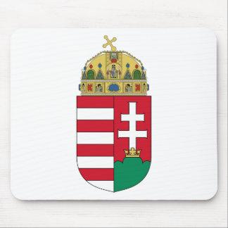 HUハンガリーの紋章付き外衣 マウスパッド