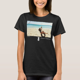 HU X Yiana Burton Tシャツ
