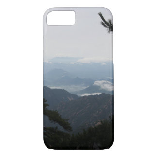 Huangshanの黄色い山、中国の景色 iPhone 8/7ケース