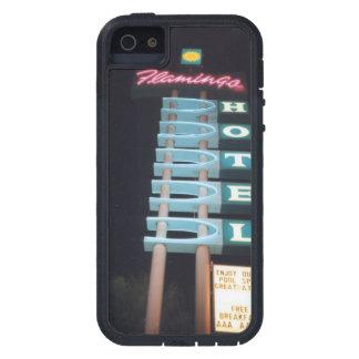 HUETEKUNSTによるレトロのネオンモーテルの印 iPhone SE/5/5s ケース