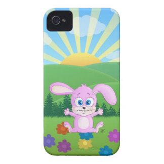 Huggyのバニー-明るい丘の箱 Case-Mate iPhone 4 ケース