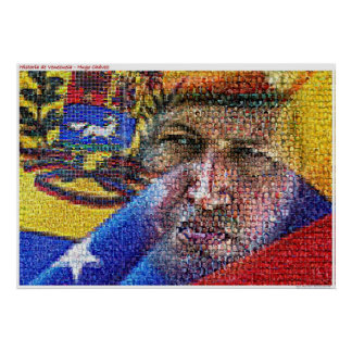 Hugo Chavez ポスター