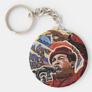 Hugo Chavez -漫画の改革のスタイル キーホルダー