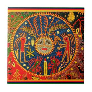Huicholの豊饒の儀式 タイル