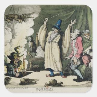 Humbuggingか悪魔1800年を育てること スクエアシール