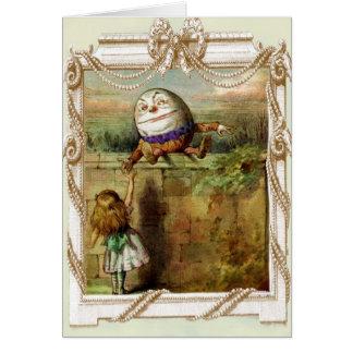 Humpty Dumptyおよびアリス カード