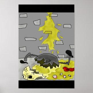 Humpty Dumptyの悲惨な死 ポスター