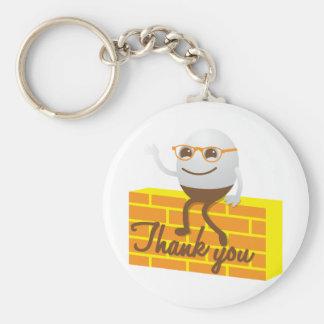 Humpty Dumptyは感謝していしています キーホルダー