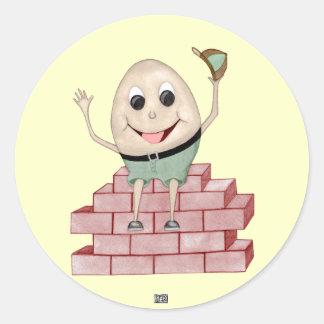 Humpty Dumpty ラウンドシール