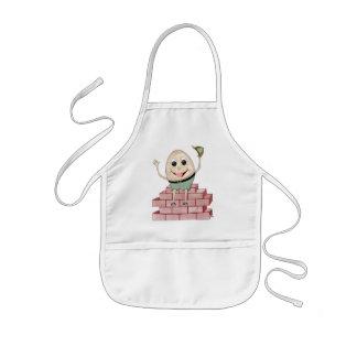 Humpty Dumpty 子供用エプロン
