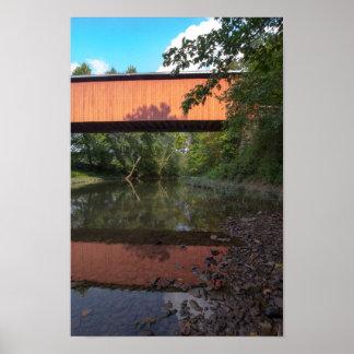 Hune Covered Bridge, Ohio ポスター