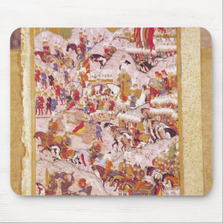 Hunernameの原稿: Suleyman マウスパッド