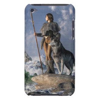 Huntressおよびオオカミ Case-Mate iPod Touch ケース