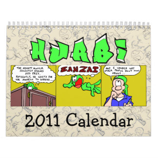 Hurbi 2011のカレンダー カレンダー