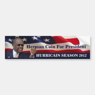 Hurricainの季節2012年 バンパーステッカー
