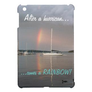 hurricanの後で虹を来ます! iPad miniケース