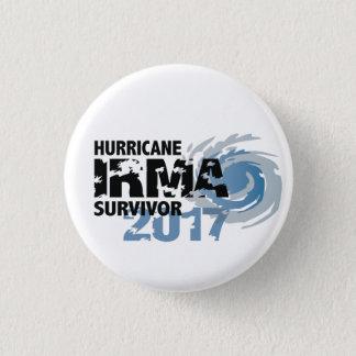 Hurricane Irma Survivor Florida 2017 Button 3.2cm 丸型バッジ