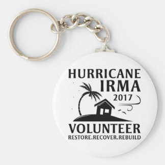 Hurricane Irma Volunteer キーホルダー