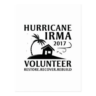 Hurricane Irma Volunteer ポストカード