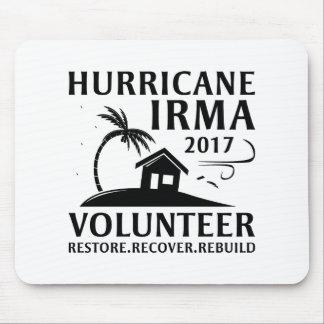 Hurricane Irma Volunteer マウスパッド