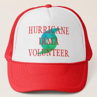HURRICANE IRMA VOLUNTEER Florida Disaster Hat キャップ