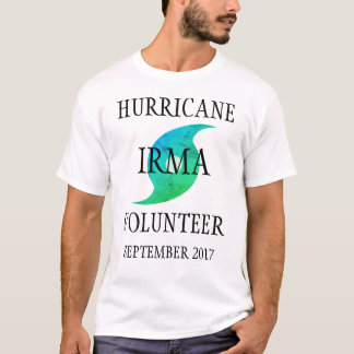 Hurricane Irma Volunteer Florida Disaster Tシャツ