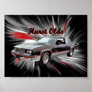 Hurst Oldsポスター ポスター