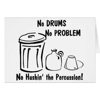 Hushin無し打楽器 カード