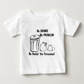 Hushin無し打楽器 ベビーTシャツ