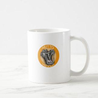 Huttoのカバ コーヒーマグカップ