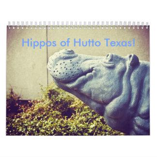 Huttoテキサス州のカバ! II カレンダー