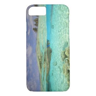 Huvadhooの南環礁、南モルディブ、インディアン iPhone 8/7ケース