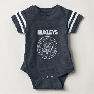 Huxleysのパンクロック ベビーボディスーツ