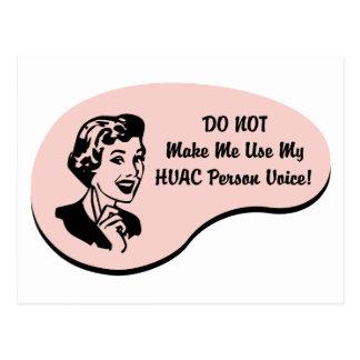 HVAC人の声 ポストカード