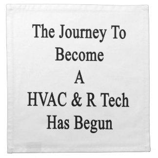 HVAC Rの技術になる旅行は始まりました ナプキンクロス