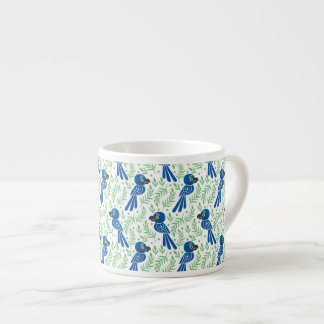 Hyacinthのコンゴウインコパターン エスプレッソカップ