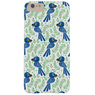 Hyacinthのコンゴウインコパターン Barely There iPhone 6 Plus ケース